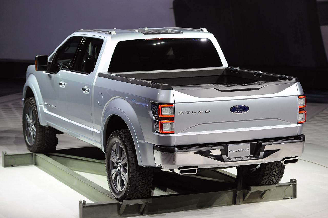 All Cars NZ: 2013 Ford Atlas Concept Ford Concept Trucks Atlas
