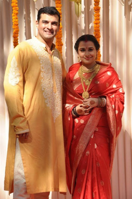 Vidya Balan, Siddharth Roy wedding photos
