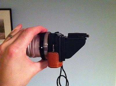 sony nex clearviewer hood viewfinder