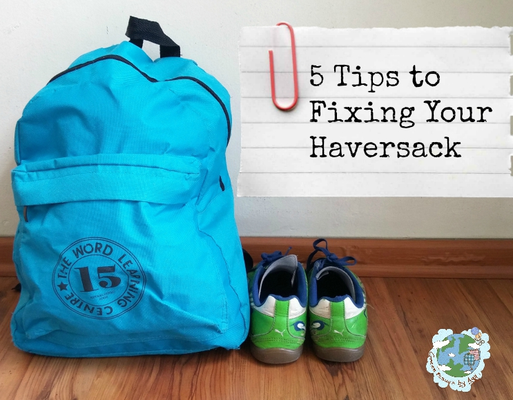 Fix It Friday - 5 Tips to Fixing Your Haversack