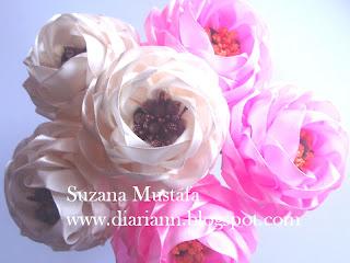 Цветы из лент своими руками мастер класс ромашка фото 193
