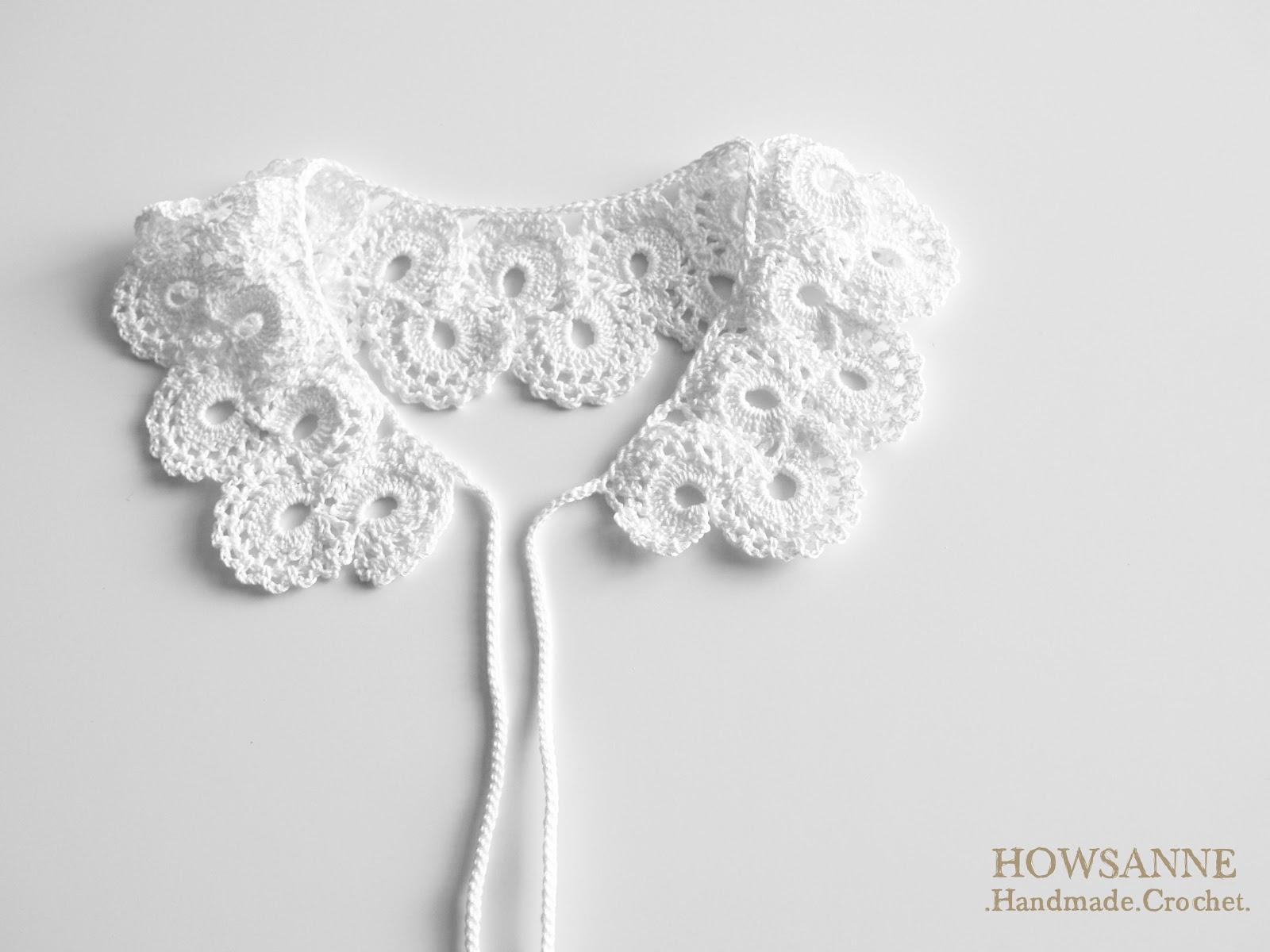 Handmade Crochet : Howsanne Handmade Crochet : Crochet Pattern: Vintage Collar