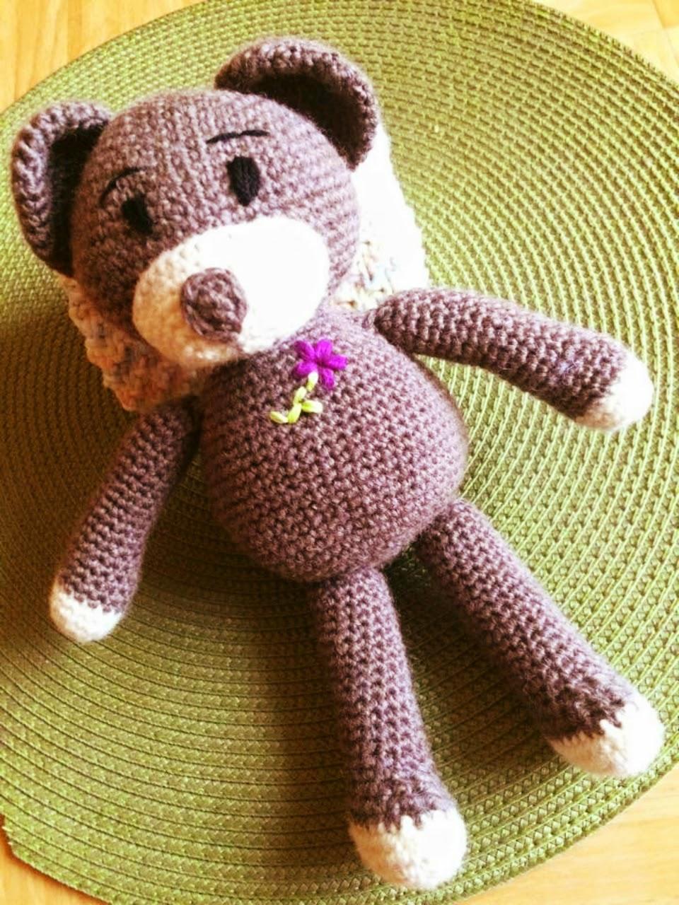 Teddybär Amigurumi - Ideenpiratin