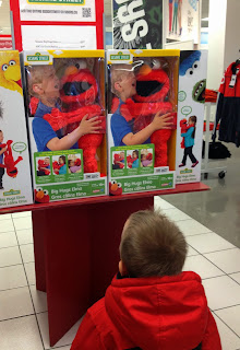 Sears Big Hugs Elmo Wishbook 2013: Creating a Wishlist for Giving #SearsMom