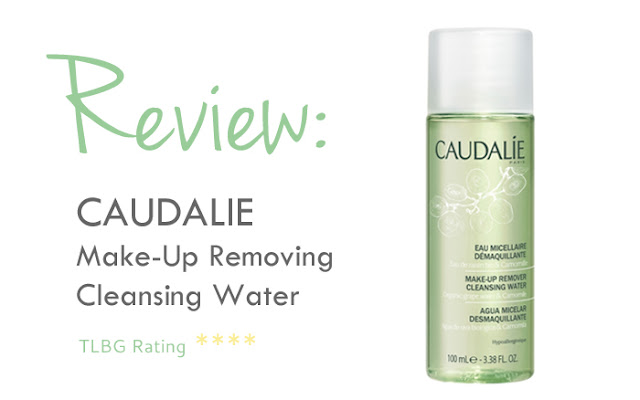 Review: Caudalie Make-up Removing Cleansing Water