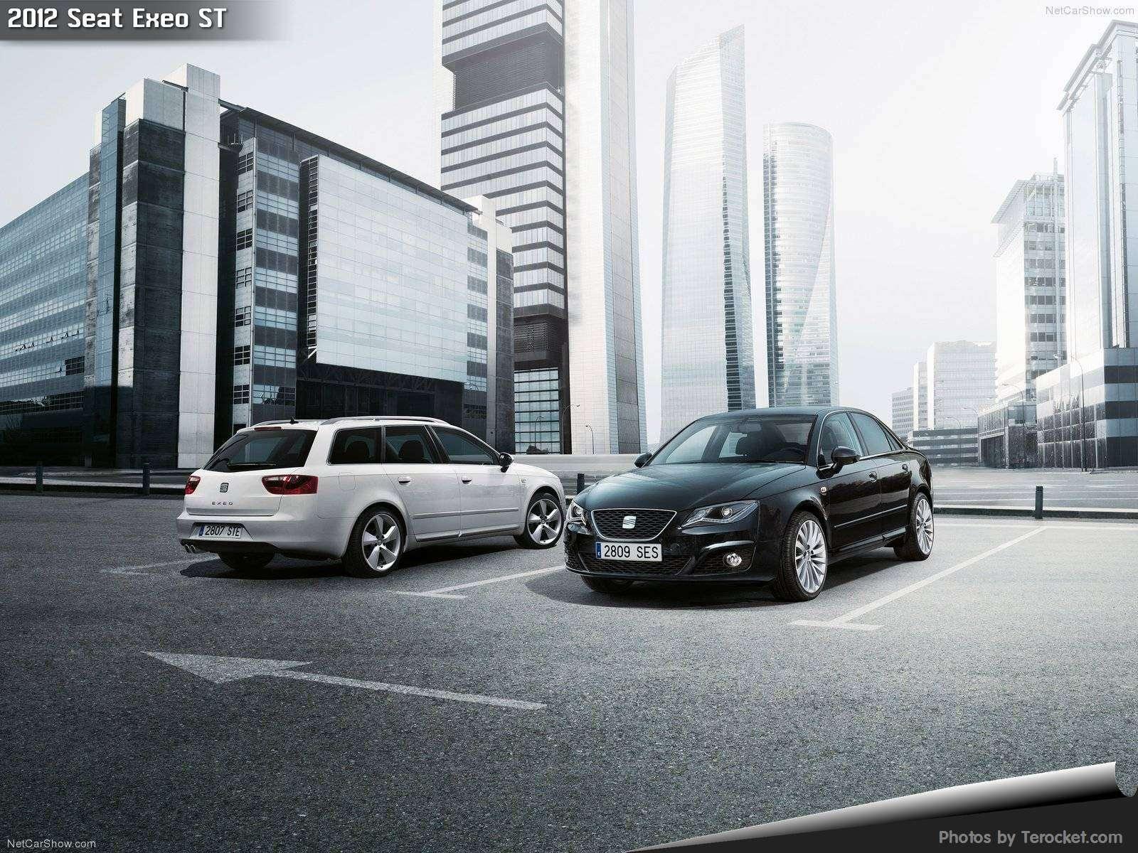Hình ảnh xe ô tô Seat Exeo ST 2012 & nội ngoại thất