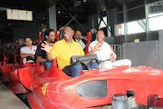 Chris Tucker went to Ferrari World; there are pictures