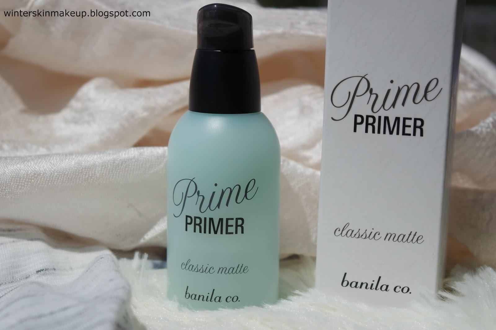 Banila Co. Prime Primer Classic Matte Swatch