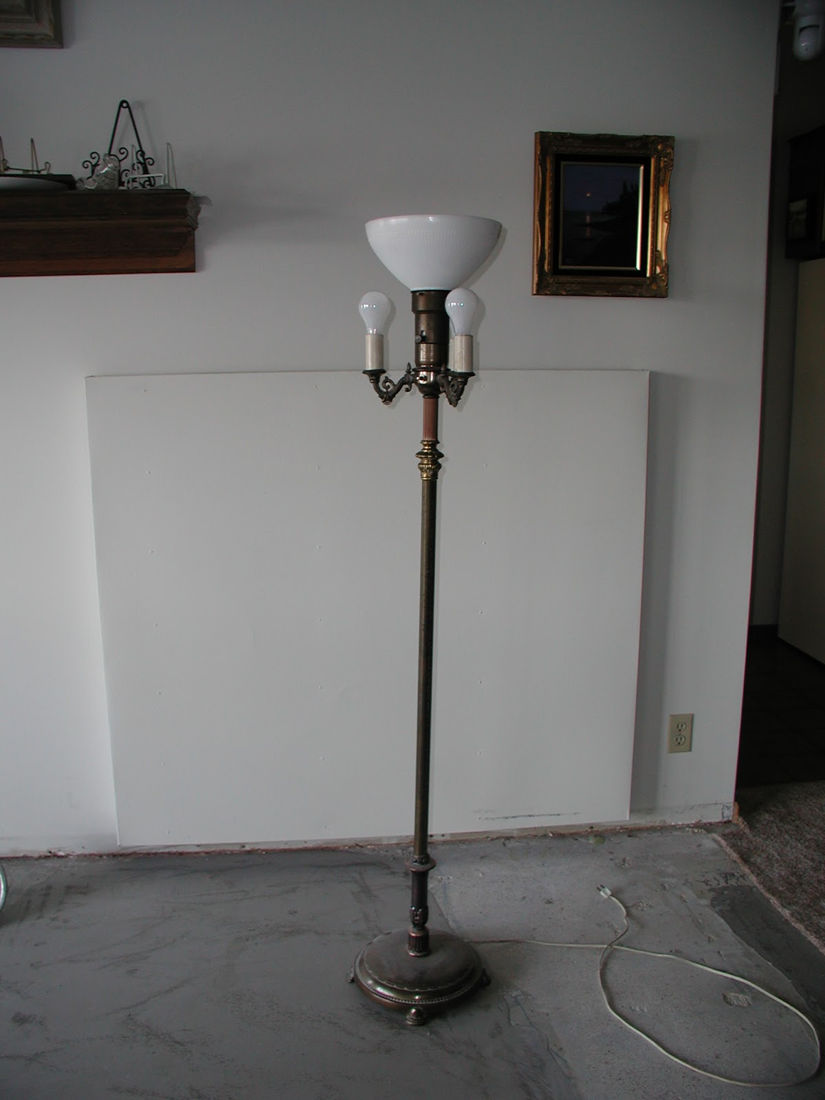 Wally&Sue Metal Halide floor lamp conversion