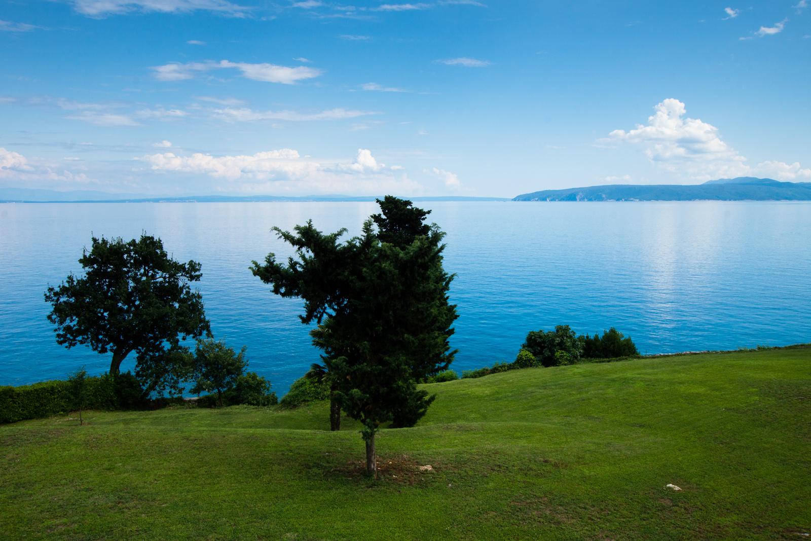 Północna Chorwacja. Krajobraz nadmorski. fot. Łukasz Cyrus