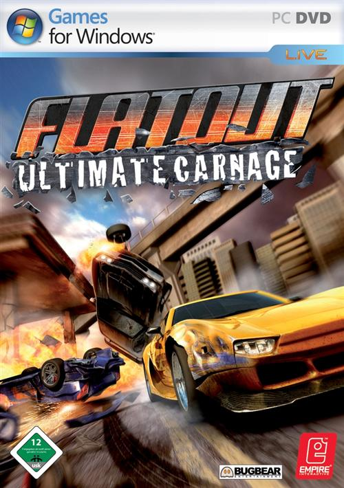 Download Flat Out Ultimate Carnage PC + CRACK RELOADED