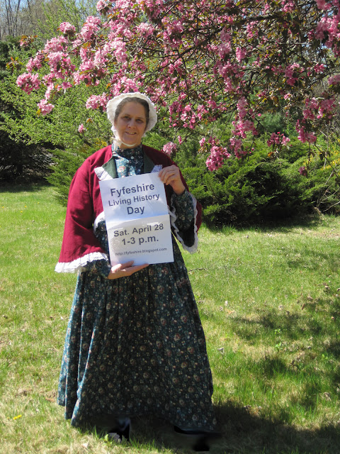 Living history day April 28 1-3 p.m.
