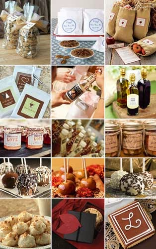 Best Food Wedding Favors Ideas UK pictures