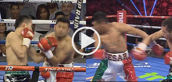 Nonito Donaire Decisions Cesar Juarez In Epic War (REPLAY VIDEO)