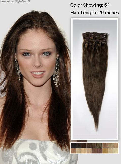 couture carrie cool clip in hair extensions by vpfashion