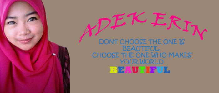 ♥ Adek Erin ♥