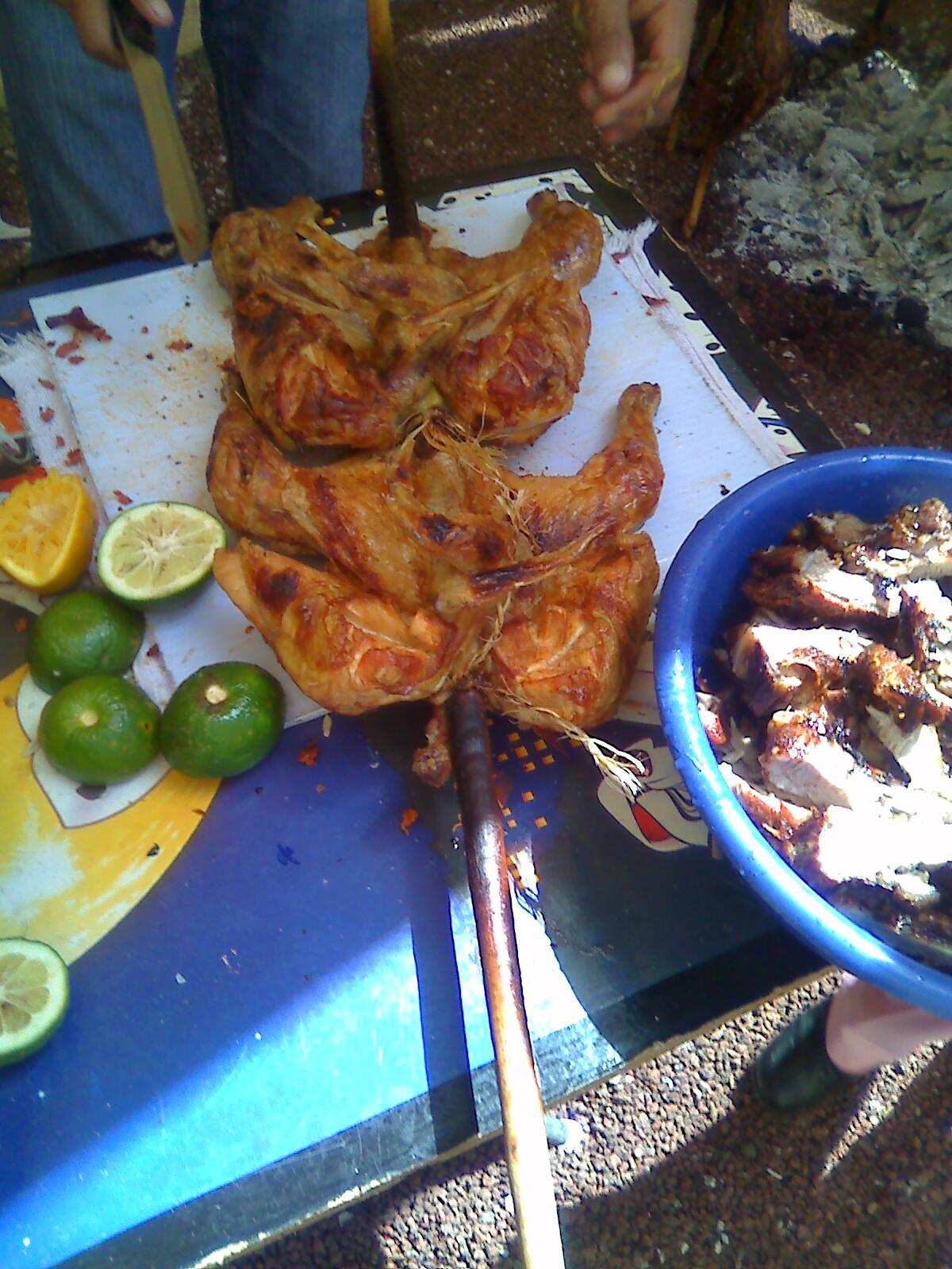 Pollos asados al pastor estilo patzcuaro - Salsa para pollos asados ...
