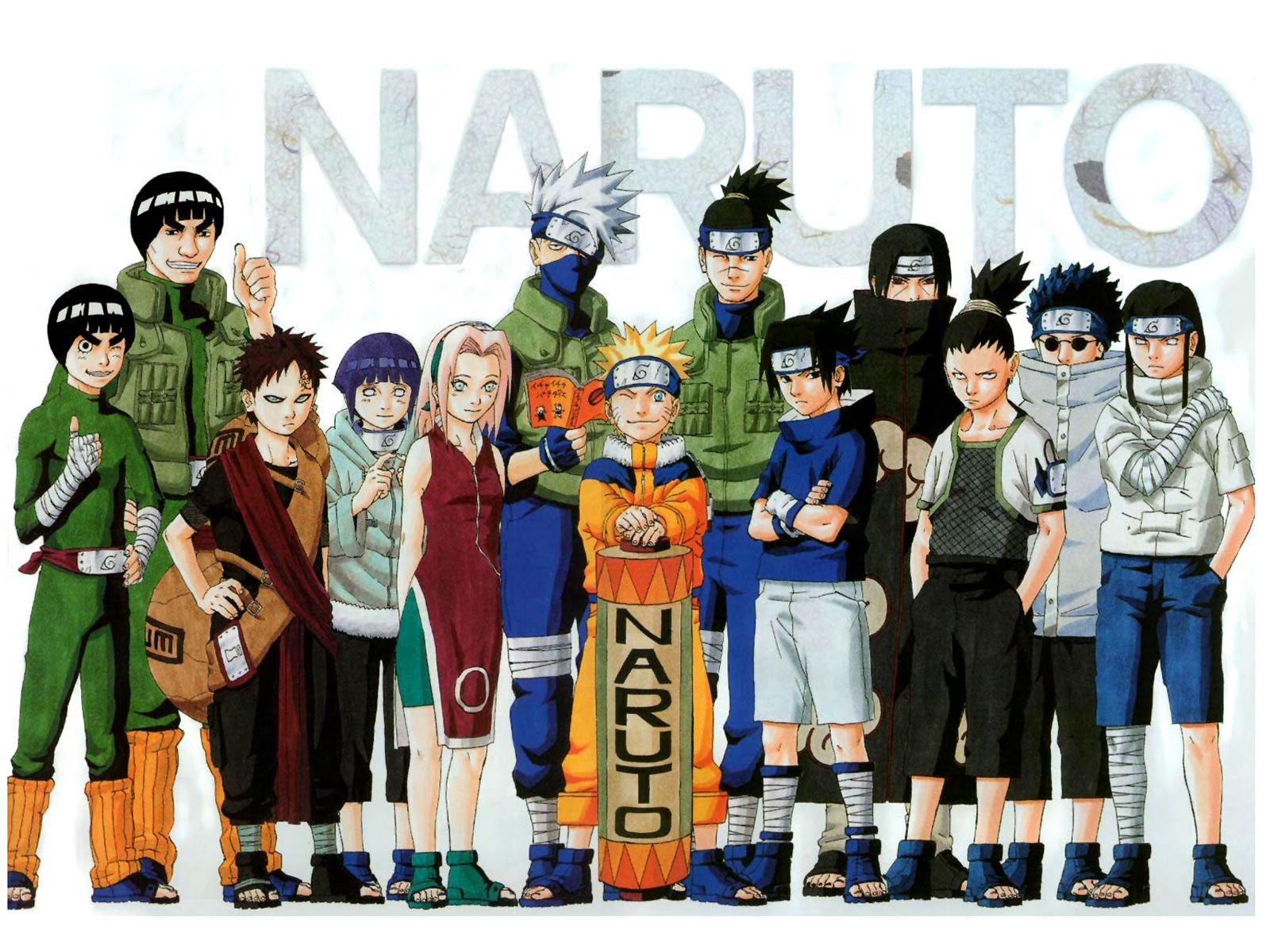 Anime Characters Naruto : All naruto character anime wallpaper