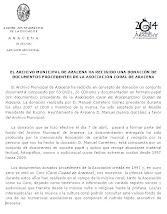 Blog Aracena Noticias, martes 17 de mayo del 2011.