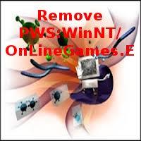 entfernen PWS:WinNT/OnLineGames.E