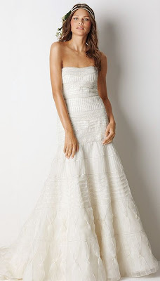 Watters Swan Wedding Dress
