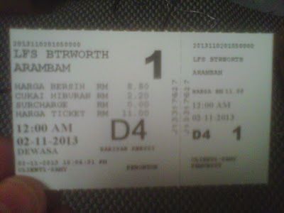 Aarambam Ticket