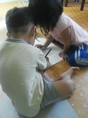 Aktiviti Alisha dan Alfeey