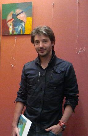 Om Barbarà a la expo Flors i Violes de La Galeria Arteca depalafrugell
