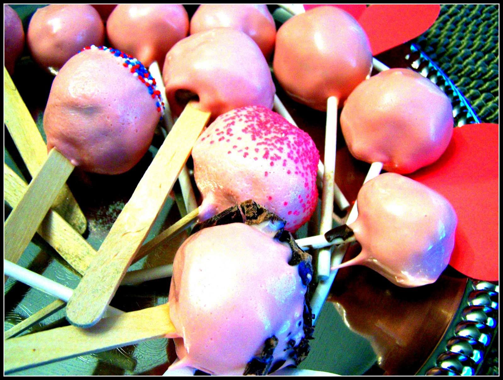 Popsicle Cake Pops With Mold