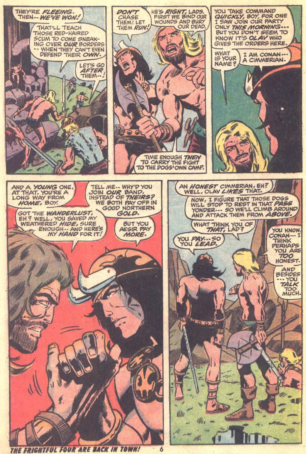 Conan the Barbarian (1970) Issue #22 #34 - English 6