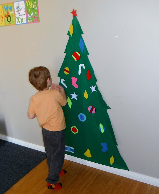 Adventures at Home with Mum shared a fun Christmas tree that can be