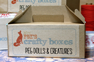 kids craft box - peg dolls