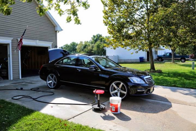 mercedes car wash