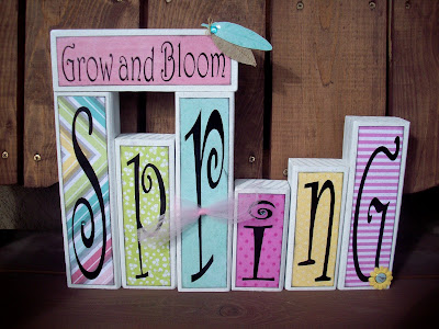 Spring block set with Dear Lizzie Fifth and Frolic papers