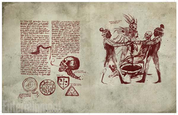 """Necronomicón de  """"Ash Vs. Evil Dead"""""""