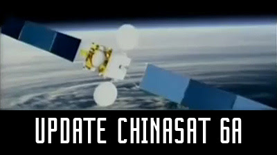 update freq satelit chinasat 6a