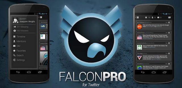 Falcon Pro (for Twitter) v1.8.2 Apk Full Apk App