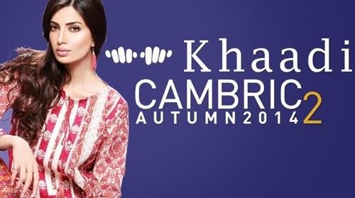 Khaadi Cambric Autumn 2014 Volume 2