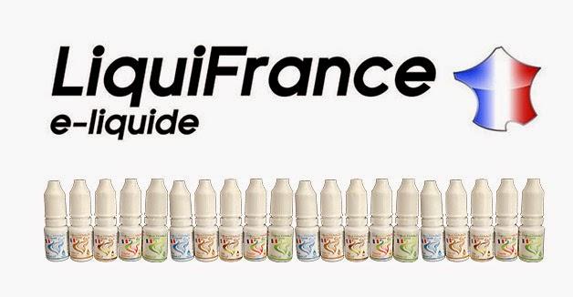 """Les e-liquides """"LiquiFrance"""" de chez Econo'Clope."""