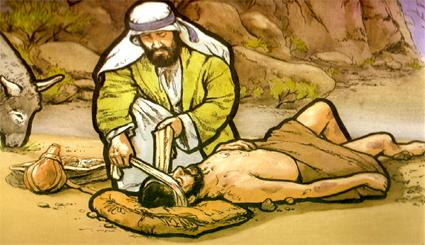 El samaritano caritativo