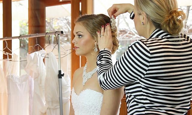 Bridal Hair Accessories - Perle Jewellery & Makeup