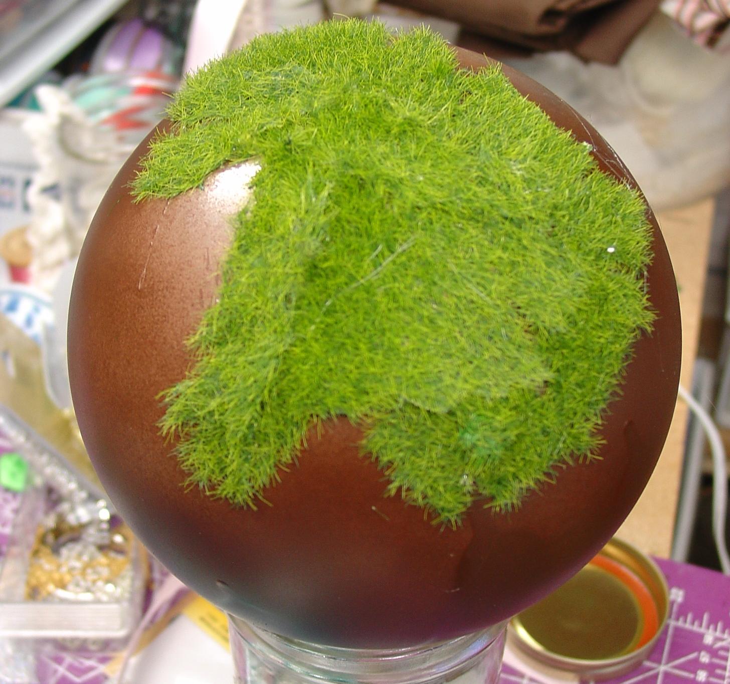 Как сделать мох для поделок