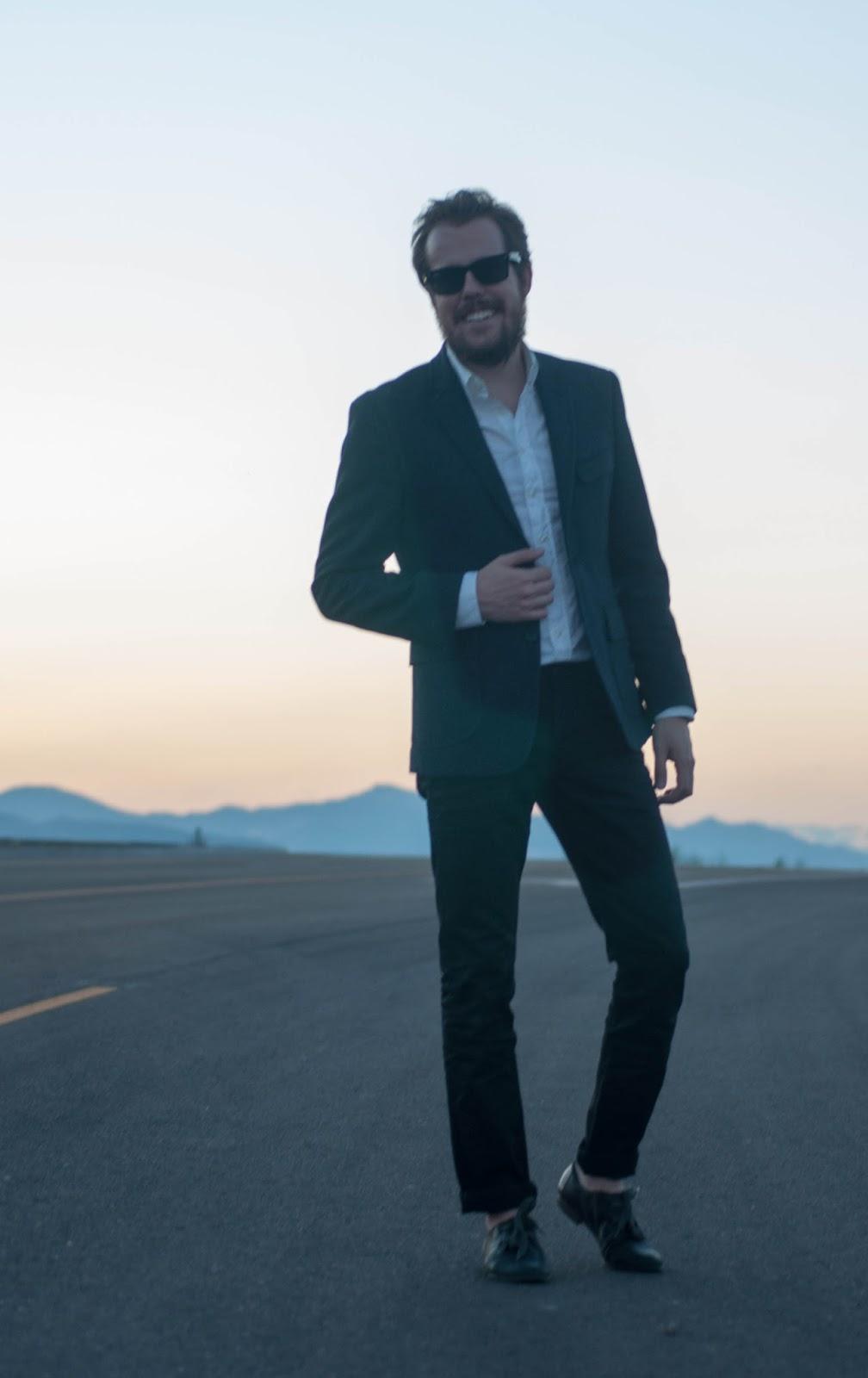 ootd, mens fashion, mens style blog, levis 511, banana republic blazer, nordstrom slim fit shirt