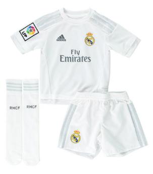 camiseta equipación niños Real Madrid 2015 2016