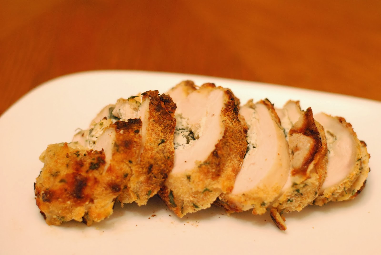 Roasted Garlic and Cream Cheese Stuffed Chicken - Aunt Bee's Recipes