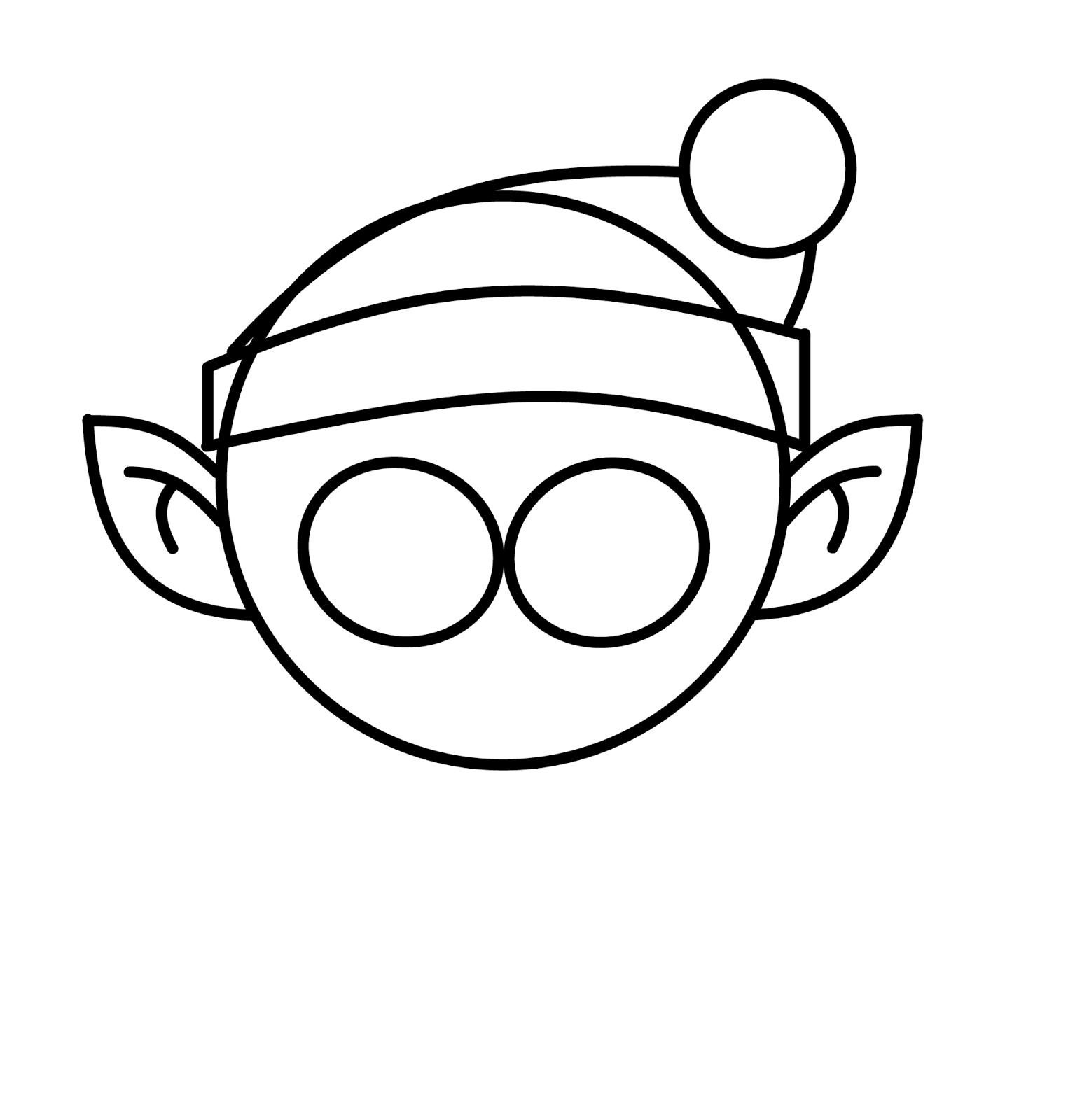 How To Draw Cartoons Christmas Elf