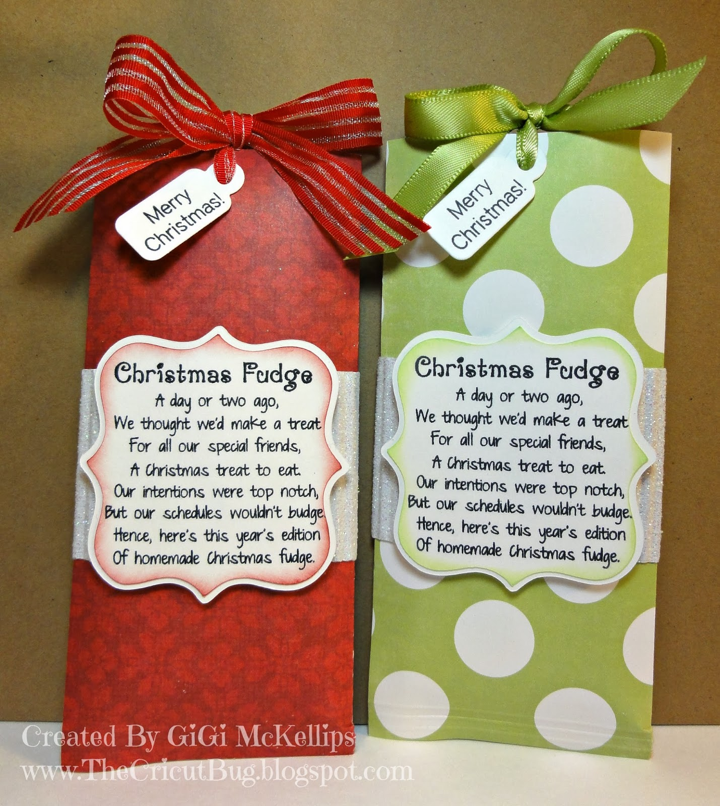 My Craft Spot: Monday Challenge #121- Christmas Neighbor Gifts!