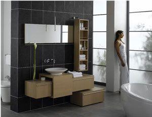 Mobiliario deco moderno mobiliario de ba o piudue con - Mobiliario minimalista ...