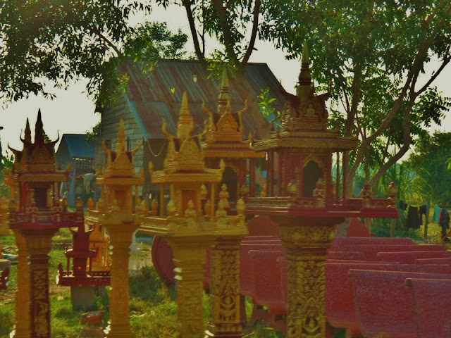 Shrines in Cambodia 