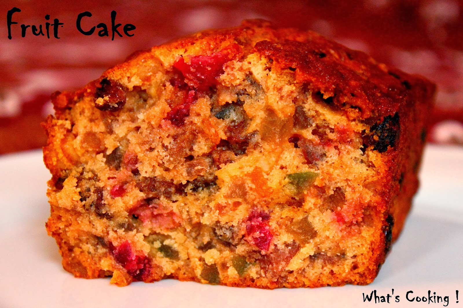 What's Cooking!: Christmas Fruit Cake